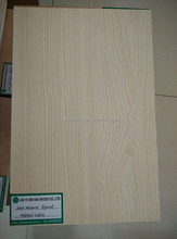 4mm One Sided Melamine Plywood Embossed Surface/Wood Grain in linyi