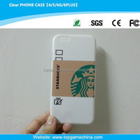 Funny pc cell phone cases for iphone 6 starbucks design case
