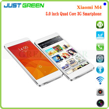 "Xiaomi Mi4 Mobile Phone 5"" Qualcomm Snapdragon 801 Quad Core 3GB RAM 16GB/64GB ROM 8MP 13MP Dual Camera GPS BT WIFI"