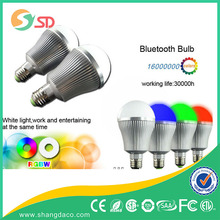 competitive price 15w LED RGBW bulb with music speaker