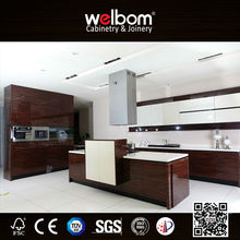 WELBOM Popular Painting Flat Pack Kitchen Cabinet