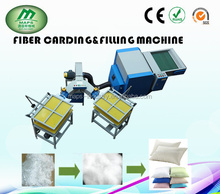 Used cushion and pillow automatic filling fiber machine ,cushion stuffing machine