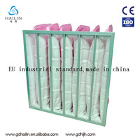 For Electronics Fiberglass Pink Filter Bag Media