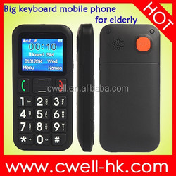 Dual SIM Torch FM Radio PS-V702 big keyboard mobile phone for elderly