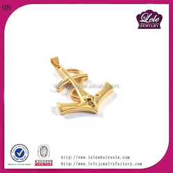 China factory wholesale arrowhead pendant in 316L stain