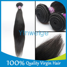 Brazilian Virgin Straight Hair One Donor Unprocessed Human Hair Extensions Natural Color With Shipping Free