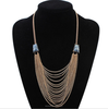 multi layer alloy necklace, new model necklace chain party dress jewelry(SWTJU822)