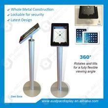 iPad floor stand for iPad 234 Air metal-Silver