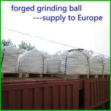 forged grinding steel ball delivery to Europe