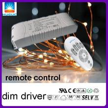 2.4G RF driver 12W 500ma constant current 24v remote control led driver