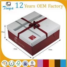 flat packing birthday cake cardboard box