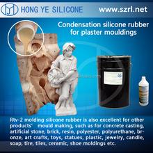 high quality silicone rubber,liquid silicone for gypsum statue mold