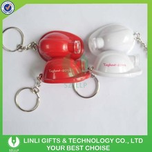 Shenzhen manufacture Red LED Keychain, Red Keyring With Light, Red Ligh Keychain