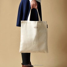 Export to German market good quality cotton tote bag promotional shopping bag