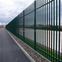 High Quality palisade /palisade fence/2.4m high D profile palisade fencing( 20 years professional factory)