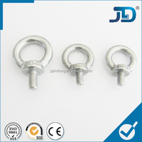 Aluminum small size eye bolt m4