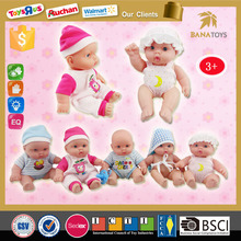 Banho do bebê boneca de pelúcia no atacado silicone bonecas reborn bebê para venda 9 polegada boneca bebê