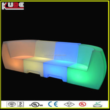 wireless design bar rechargeable sofa furniture with lights