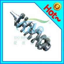 Forged steel cast racing engine crankshaft price for Toyota 1E 13401-11050