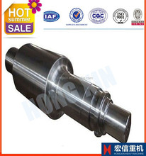 forged cold rolled steel roller shaft mine hoist