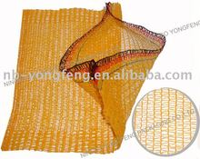 HDPE raschel bag of food packaging, PE fruit raschel knitted bags