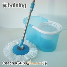 spin go mop with anti-slip rubber