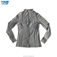 Pure colored Men's fashion sport coat with zipper