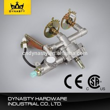 Electric gas pipe and regulator with OEM service