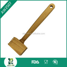 New design steak tenderizer machine/mini wooden hammers/wooden deluxe meat hammer