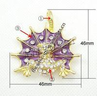Zinc Alloy Bat Animal Cuff Bracelet Enamel