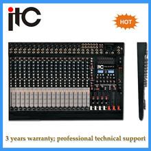 Professional digital cheap 32 channel audio mixer