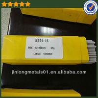 ISO Hot sale stainless steel E308L-16 steel welding rods