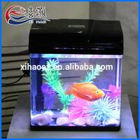 Hot Selling Elegent Durable High-grade Glass Small Indoor Fish Tank Aquarium
