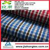 cotton check fabric for men's shirt fabric,