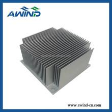 Extruded aluminium heat sink for power amplifier