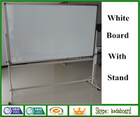 Dry Erase Mobile White Board with wheels