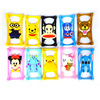 2015 hot selling fashion design cartoon shape multi-functional factory price soft silicone universal phone case wholesales