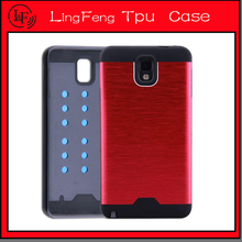 Alloy aluminum armor cell phone case for iPhone 5/5S/6/6 plus