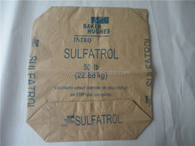 50kg Chinese new kraft paper valve bags packing