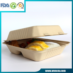 air vent microwave safe disposable biodegradable food container