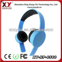 Durable powered sound headphone caps for mp3