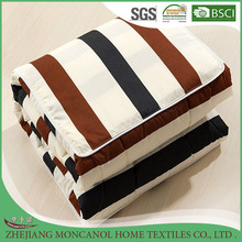 Two uses colorful decorative cushion/air-conditioned quilt/summer comforter