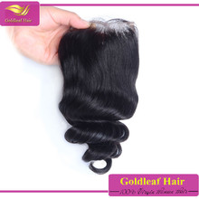 Factory price lace closure 3 way part Free parting/Middle/3 Part top closure cheap human hair lace closure