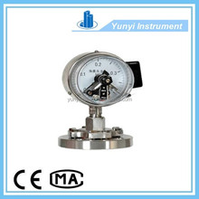 Electric Contact Pressure Gauges with Diaphragm Seal best sale