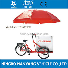 new cargo tricycle sale for mobile food shop
