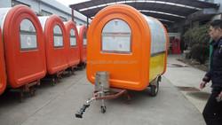 Mobile catering van Crepe kiosk Mobile fried ice cream cart