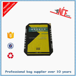 Block Bottom Valve Kraft Paper Bag for Cement/ Charcoal