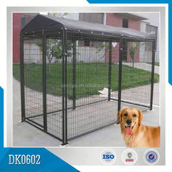 Made In China Large Outdoor Galvanized Dog Kennels