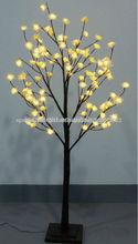 blanco led iluminado flor de árbol