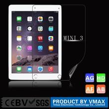 For iPad mini 3 PET Protective Film 4H 3 Layers High Quality Screen Protector /Screen Saver for iPad Mini 3